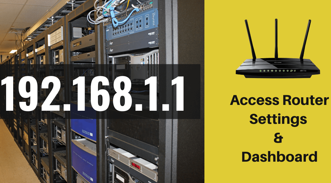 192.168.1.1 Access Router Settings & Dashboard