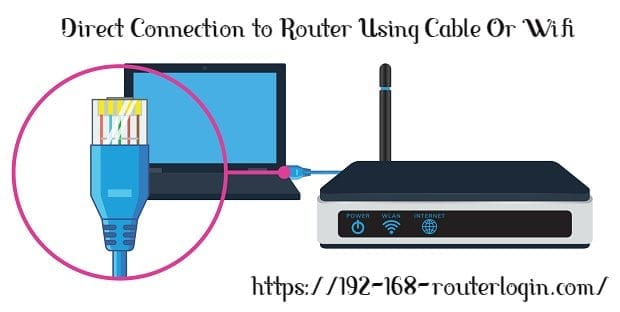 Connect Router With Computer